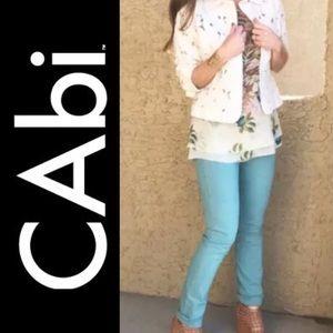 CAbi Tidal Blue Skinny Jeans